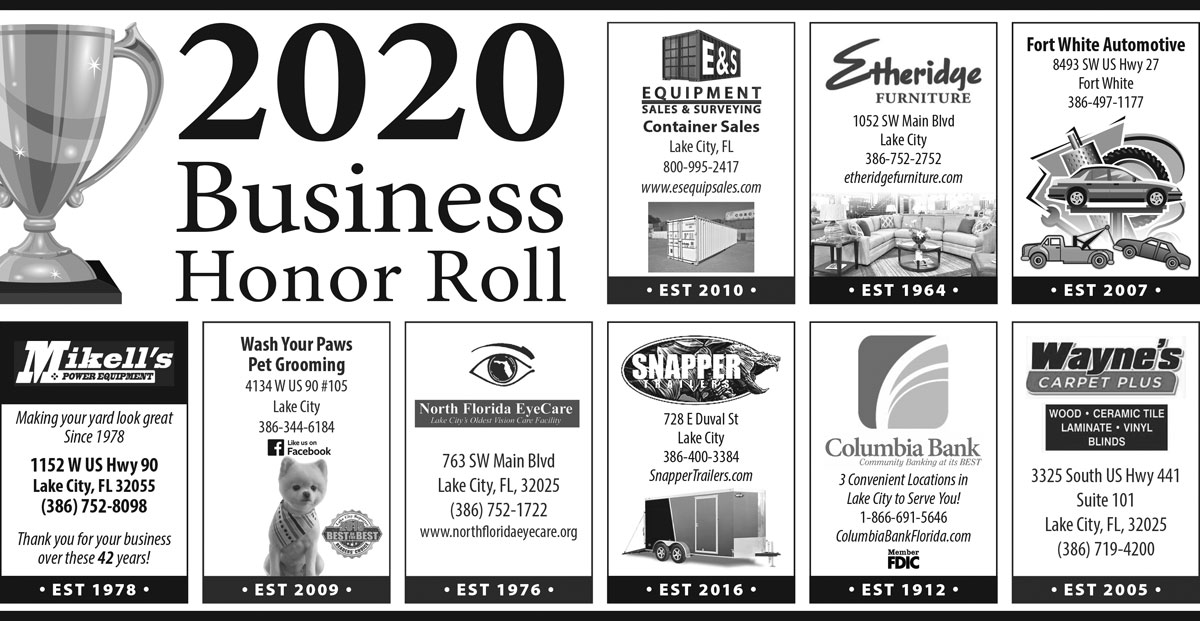 Business Honor Roll
