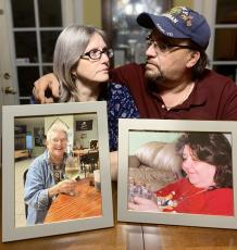 Jennifer and Patrick Scott each lost their mother on December 12. It was a one-two blow that has shaken them and their kids. (BRENTON CUNNINGHAM/Special to the Reporter)