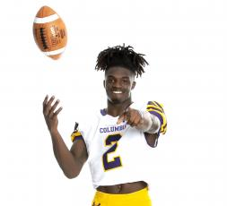 Columbia receiver Marquez Bell is the LCR'S Offensive Player of the Year. (JEN CHASTEEN/Special to the Reporter)