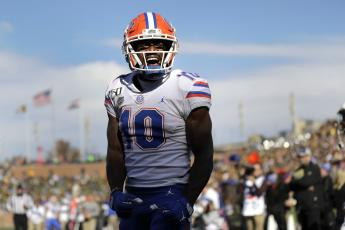 "Florida's Josh Hammond reflects on his career, including Billy G's impact, workouts with Louis Murphy and Percy Harvin, why he hates cookies and cream milkshakes and how he became ""Old-Man Hamm."" (Associated Press)"