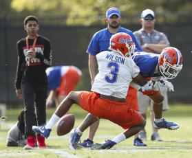 The Florida Gators will resume voluntary practices next month.(TAMPA BAY TIMES/TNS)