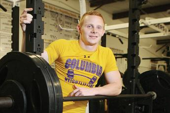 Anthony Springborn won back-to-back district titles at Columbia before winning a state title as a senior. (FILE).