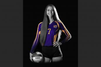 Madison Plyn was the LCR's Volleyball Player of the year in back-to-back seasons to finish her career. (JEN CHASTEEN/Special to the Reporter)