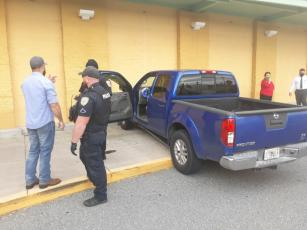 Good Samaritans may have helped save a man's life Tuesday when he had a medical emergency while driving and ran into the Publix building. (COURTESY)