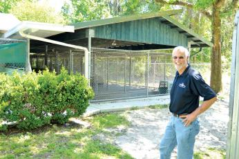 Thomas Barritt, former director of the Lake City-Columbia County Humane Society, has been named the interim president of the humane society's board of directors. (FILE)