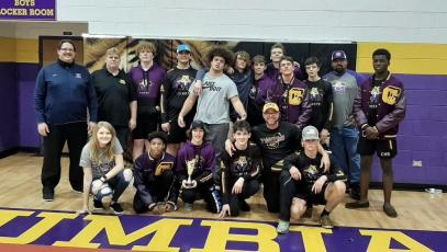 Columbia placed second at the Tiger Duals on Saturday. (COURTESY)