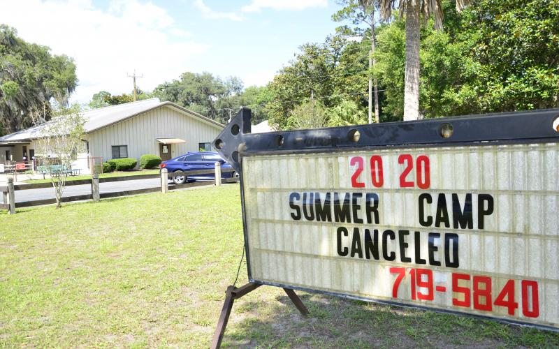 The Girls and Boys Club summer camp programs will remain closed due to covid-19 concerns despite an about-face by Gov. Ron DeSantis, who said Friday that camps like these could be reopened statewide if local governments wished. (CARL MCKINNEY/Lake City Reporter)