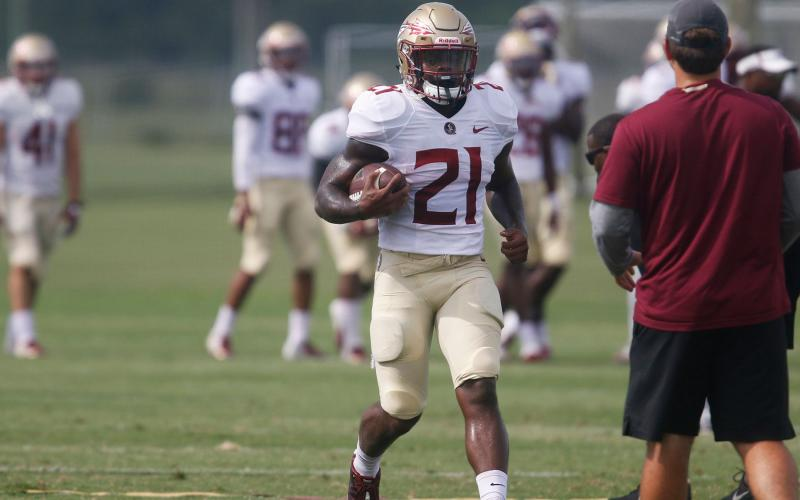 Khalan Laborn never made a five-star impact at Florida State. (TAMPA BAY TIMES/TNS)