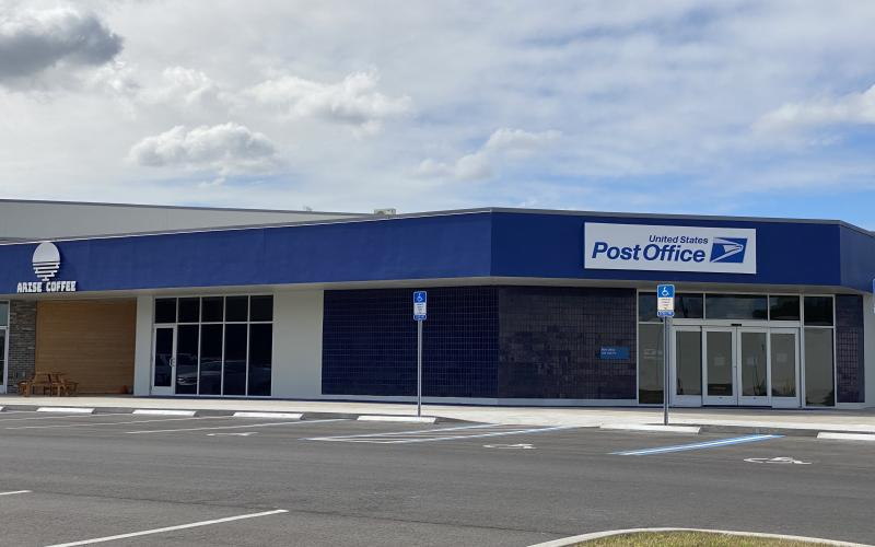 The new Live Oak Post Office at Live Oak Commons will open Monday. (JAMIE WACHTER/Lake City Reporter)
