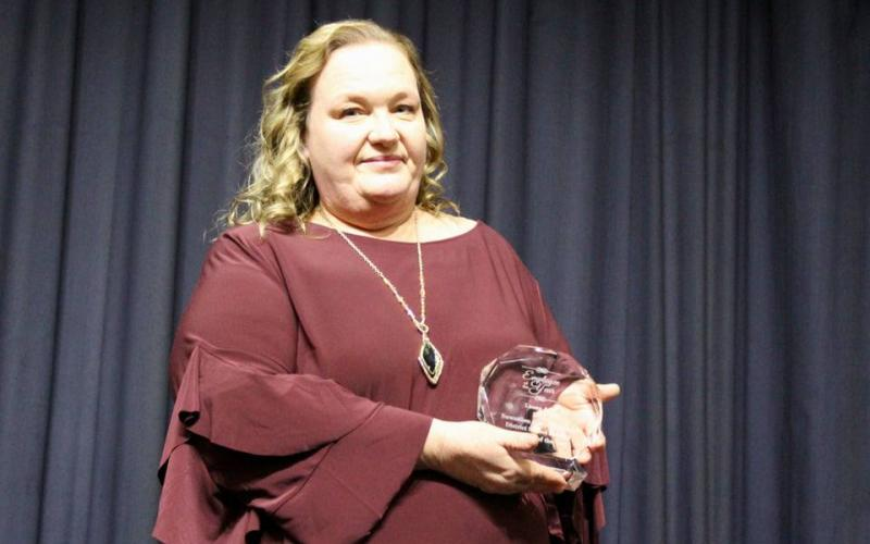 Suwannee Riverside Elementary School's Leona Ash was named the School-Related Employee of the Year for the Suwannee County School District. (COURTESY SUWANNEE COUNTY SCHOOL DISTRICT)
